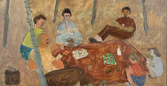 The Picnic by Milton Avery