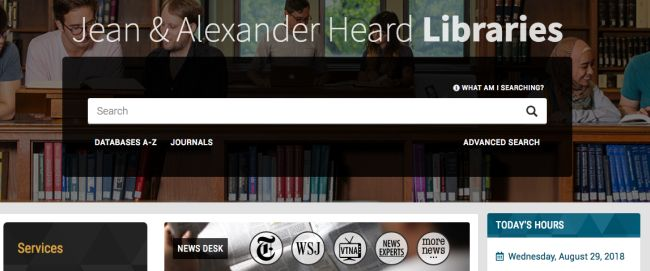 News Desk portal