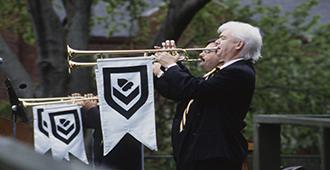 Commencement trumpets