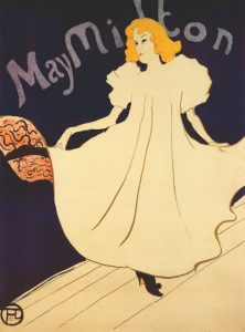 Henri Toulouse Lautrec, May Milton, Lithograph