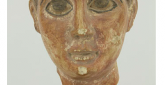 Head of a boy (funerary)