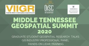 Middle Tennsessee Geospatial Summit 2020 Flyer