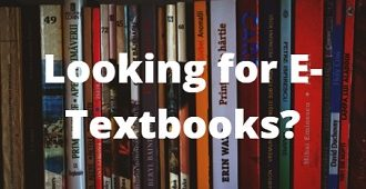 Looking for E-Textbooks?
