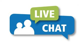 Live Chat text