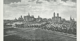 Early sketch of Vanderbilt Campus