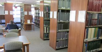 Music Library study spaces