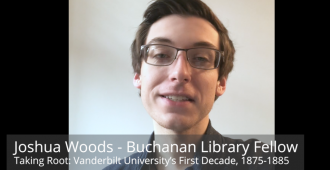 Buchanan Fellow Joshua Woods head shot