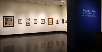Pressed for Time: Five Centuries of Prints from the Jack May Collection January 19–March 26, 2021