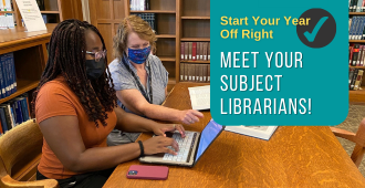 Meet Your Subject Librarian